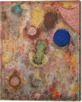 Paul Klee - Magic Garden Canvas Print