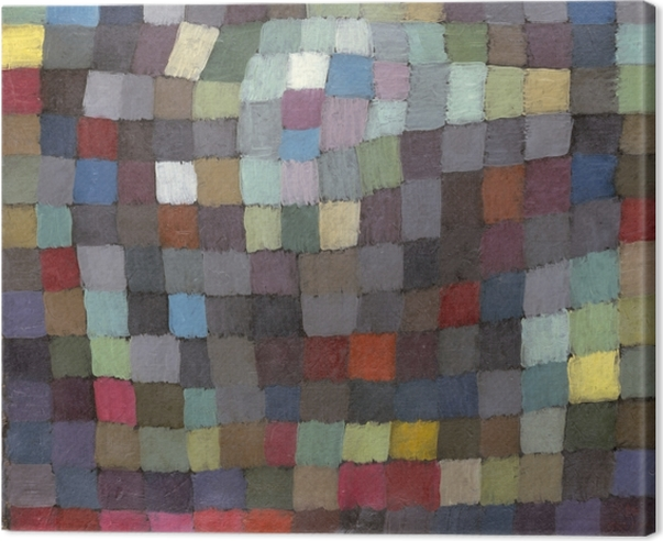 Paul Klee - May Picture Canvas Print - Reproductions