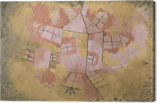 Paul Klee - Revolving House Canvas Print - Reproductions