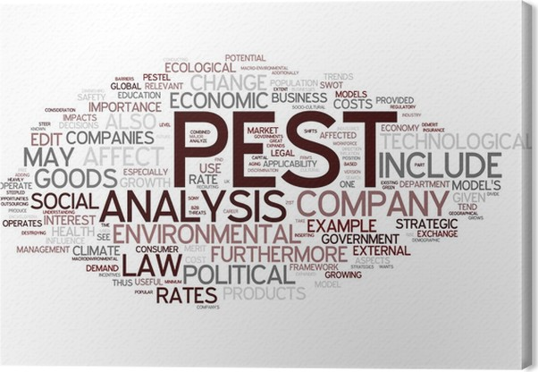 Pest Analysis Canvas Print  Pixers  We Live To Change