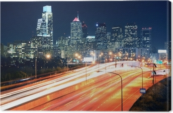Philadelphia Center City Canvas Print