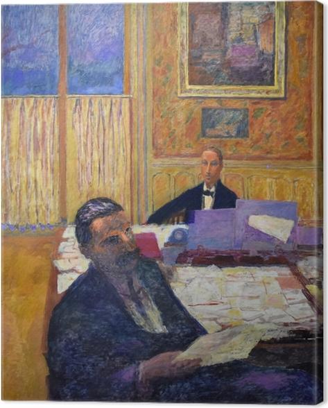 Pierre Bonnard - The brothers Bernheim-Jeune Canvas Print - Reproductions