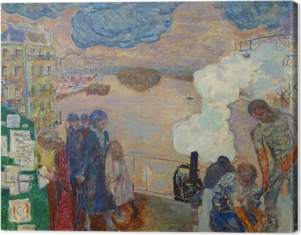 Pierre Bonnard - Workers Canvas Print - Reproductions