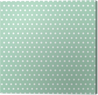 Polka dot Canvas Print
