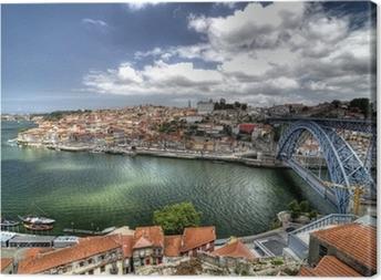 Porto, Portugal. Canvas Print