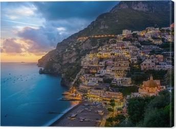 Positano, Amalfi Coast, Italy Canvas Print
