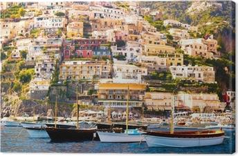 Positano, Costiera Amalfitana Canvas Print