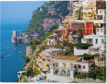 Positano, italy. Amalfi Coast Canvas Print
