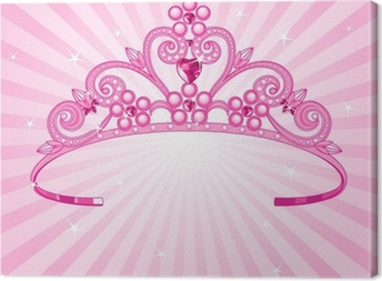 Princess Crown Canvas Print