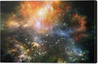 Propagation of Space Canvas Print