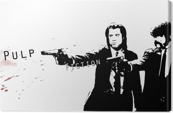Pulp Fiction Canvas Print - Criteo
