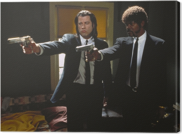 Pulp Fiction Canvas Print - Criteo