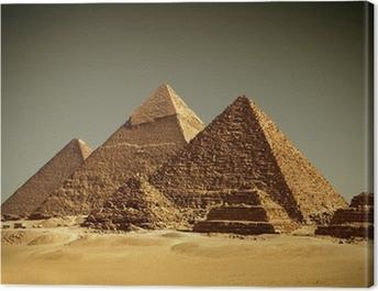 Pyramides - Gizeh / Egypt Canvas Print