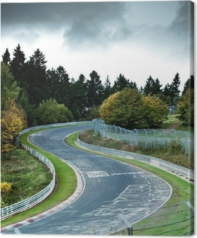 race circuit Canvas Print