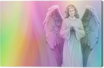 Rainbow Angel 88 Canvas Print