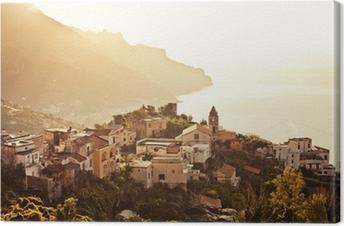 Ravello, Amalfi Coast, Italy. Canvas Print