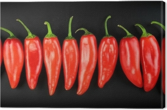 Red hot chili pepper Canvas Print