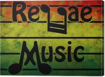 Reggae Music Canvas Print