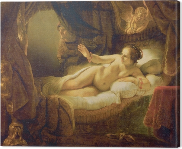 Rembrandt - Danae Canvas Print - Reproductions