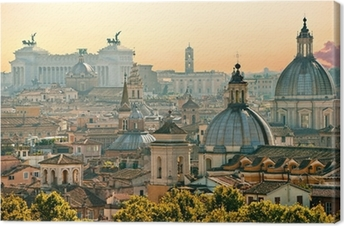 Rome, Italy. Canvas Print