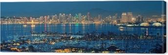 San Diego downtown Canvas Print
