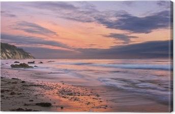 Santa Barbara Sunset Canvas Print
