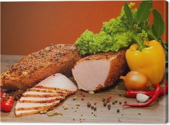 sausages Canvas Print