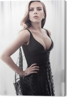 Scarlett Johansson Canvas Print