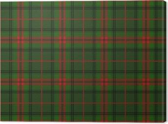 Scottish tartan Canvas Print