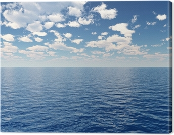 Sea sky Canvas Print