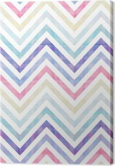 seamless chevron pattern Canvas Print