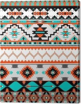 Seamless navaho pattern Canvas Print