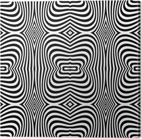 Seamless op art texture zebra pattern design canvas print pixers seamless op art texture zebra pattern design canvas print thecheapjerseys Gallery