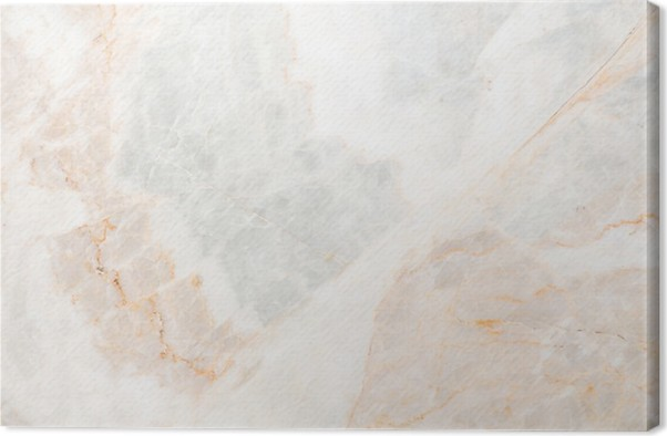 Seamless Soft Beige Marble Texture Canvas Print