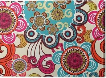 Seamless texture Canvas Print
