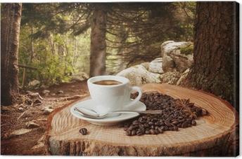 sfondo caffè Canvas Print