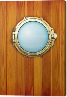 Ship's porthole Canvas Print