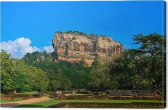 Sigiriya Rock Fortress Canvas Print