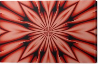 silk flower - pink Canvas Print