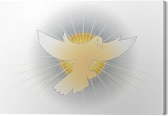 Simbolo dello Spirito Santo (colomba) Canvas Print