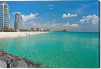 South Beach, Miami, Florida Canvas Print