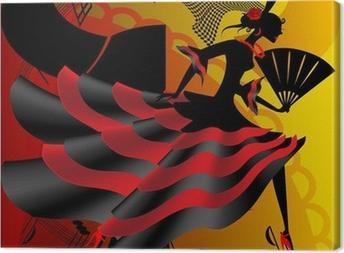 Spanish dance Canvas Print