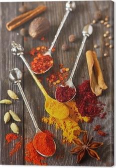 Spices. Canvas Print