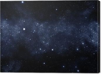 starfield milky way Canvas Print