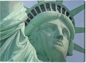 Statue of Liberty, Liberty Island, New York City Canvas Print