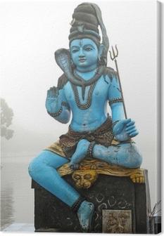 statue Shiva Canvas Print