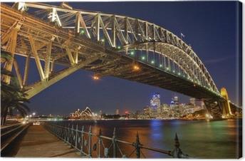 Sydney Harbour Bridge 2 Canvas Print