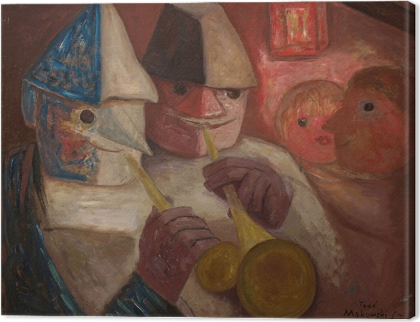 Tadeusz Makowski - Ball Canvas Print - Reproductions