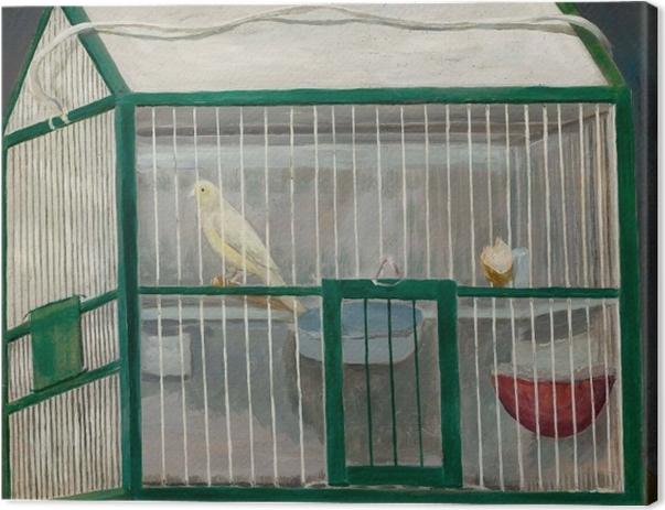 Tadeusz Makowski - Canary Cage Canvas Print - Reproductions