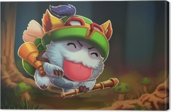 Teemo - League of Legends Canvas Print